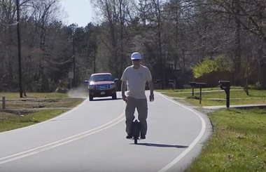 skateboard,AirWheel X8,scooter