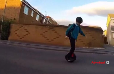 single wheel gyro scooter,airwheel mars rover,Airwheel X3