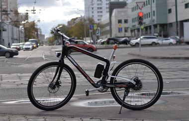R8 smart mountain electric bicycle